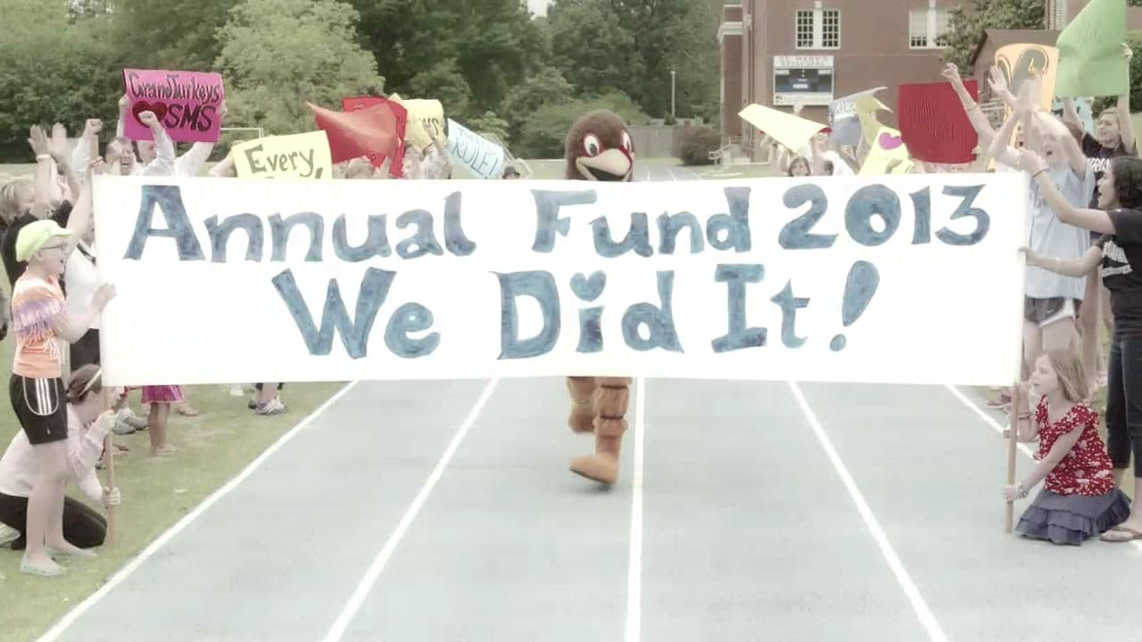 "St. Mary's School – ""Annual Fund Thank-You"" Social Media Video"
