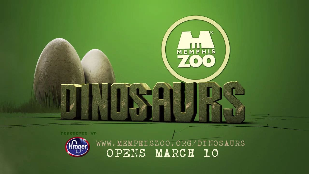 "Memphis Zoo – ""Dinosaurs!""  TV Campaign"