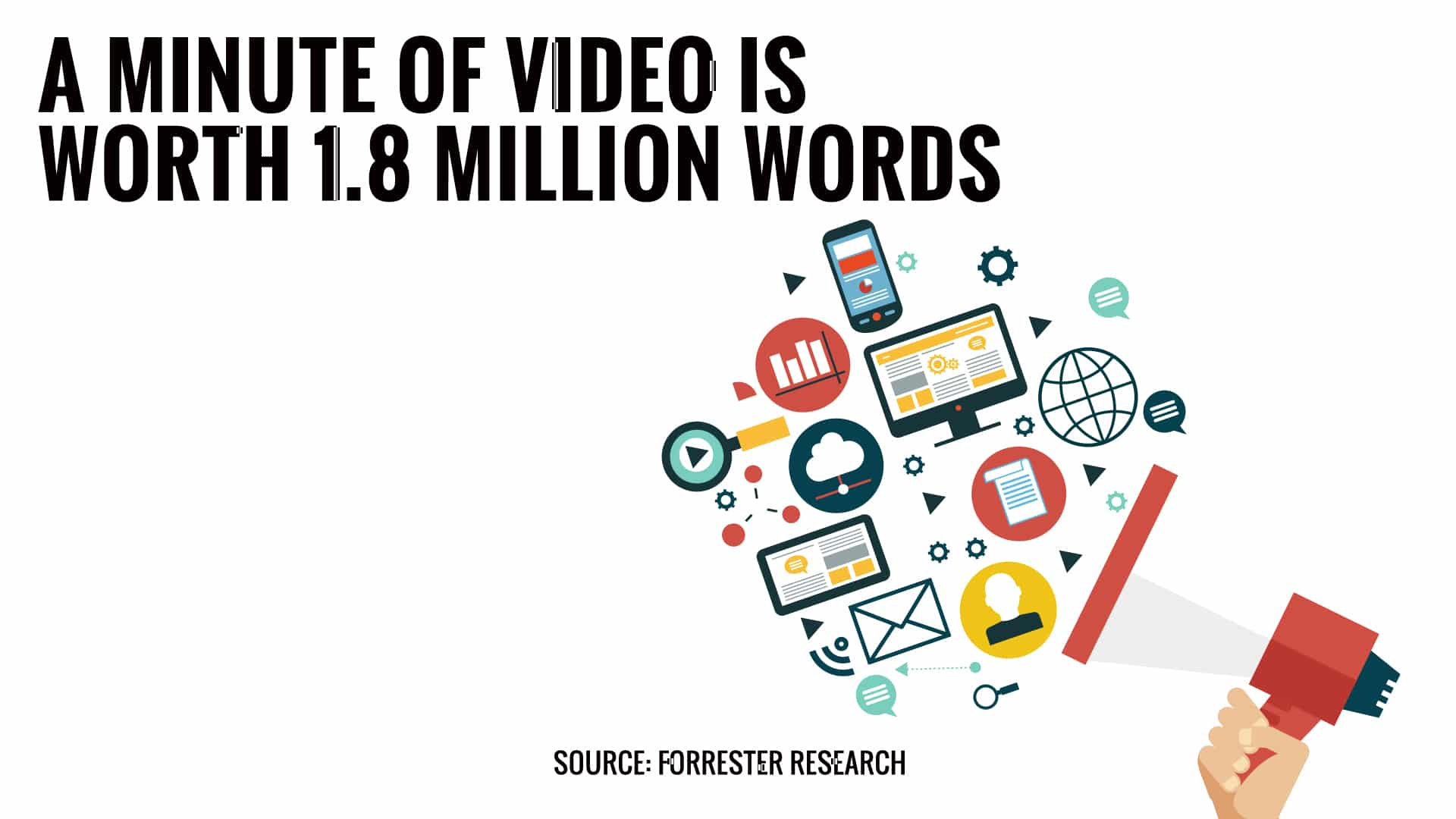 A Minute of Video is Worth 1.8 Million Words - Running Pony